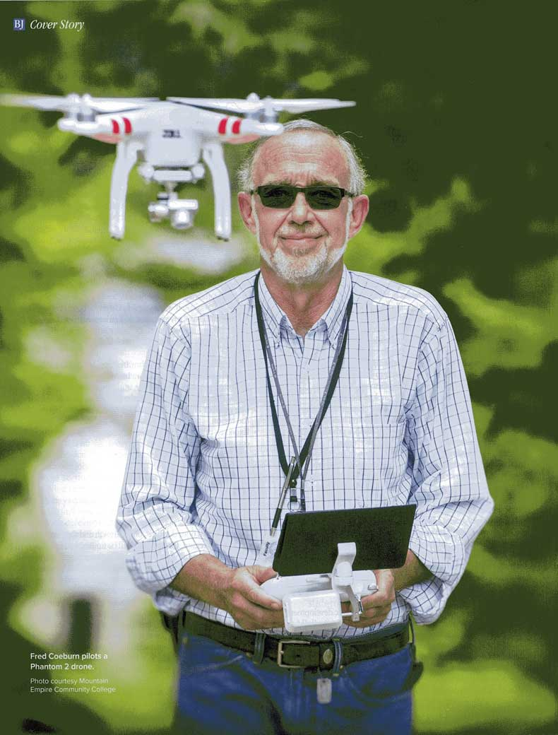 Drone Technology in Virginia's e-Region