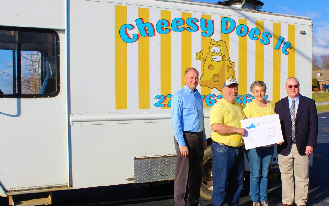 Cheesy does it LLC Awarded VCEDA Seed Capital Grant