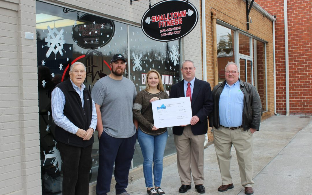 Small Town Fitness LLC Awarded VCEDA Seed Capital Matching Grant