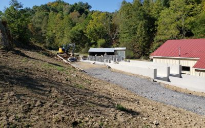 VCEDA Funds Assist Riverbound Trout Farms, LLC in Construction of New Fish Processing Plant