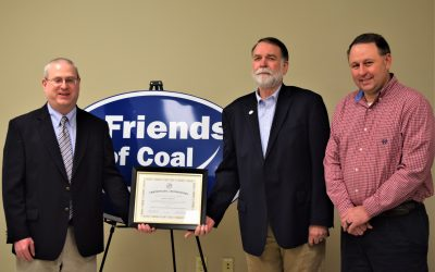 VCEDA Board Recognizes Harry Childress for Service; Approves Variety of Projects