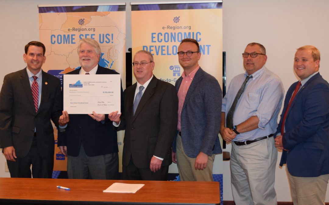 $500,000 VCEDA Grant Approved for Space-Based Broadband Initiative