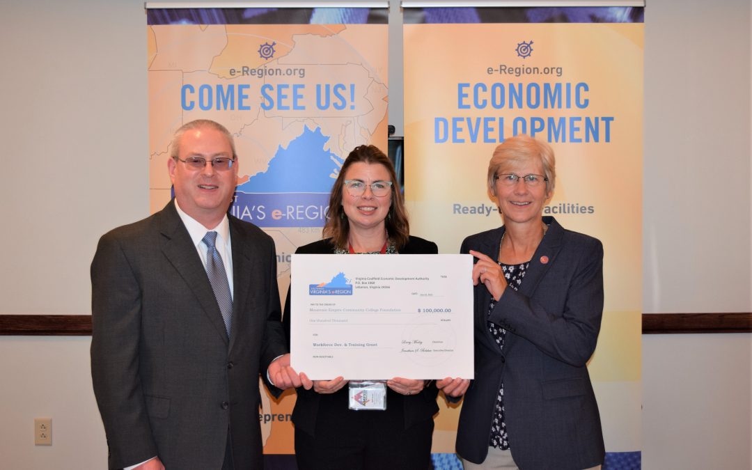 VCEDA Grant to MECC Will Support Workforce Training, Development